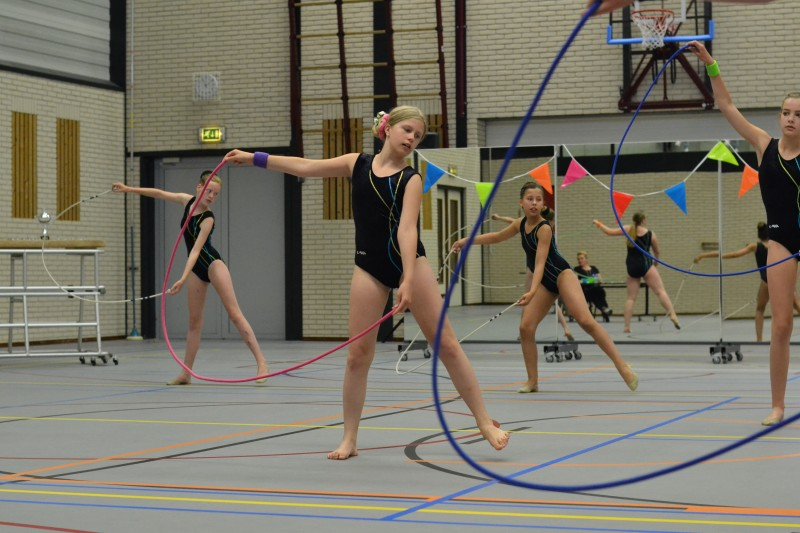 Gratis workshops Ritmische Gym in meivakantie
